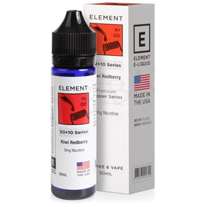 Kiwi Redberry Drip E-Liquid By Element 50ml 0mg