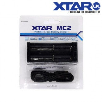 Xtar MC2 2 Bay Charger (Without Plug) - Loop-E-Juice