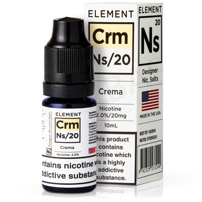 10ml Crema Salt Nicotine eLiquid 20mg - Loop-E-Juice