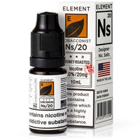 Honey Roast Tobacco by Element 10ml Salt Nicotine eLiquid - Loop-E-Juice