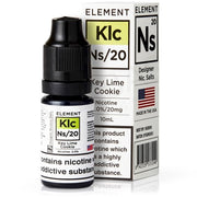10ml Key Lime Cookie Salt Nicotine eLiquid 20mg - Loop-E-Juice