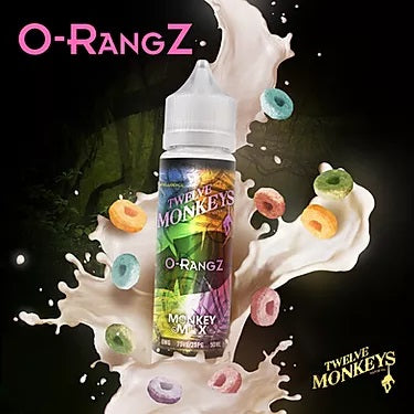 O-RangZ - Twelve Monkeys - 50ml - Loop-E-Juice