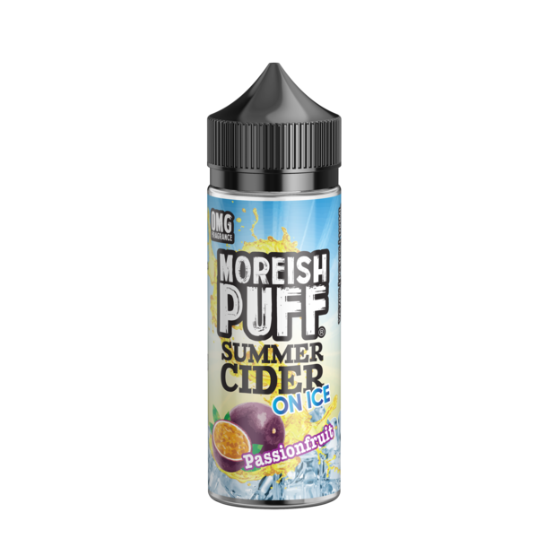 Passionfruit Summer Cider on Ice by Moreish Puff 100ml - Loop-E-Juice