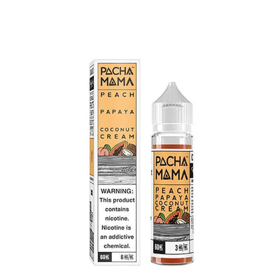 Peach Papaya & Coconut Cream 50ml 0mg Pacha Mama