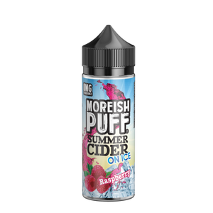 Raspberry Summer Cider on Ice by Moreish Puff 100ml - Loop-E-Juice