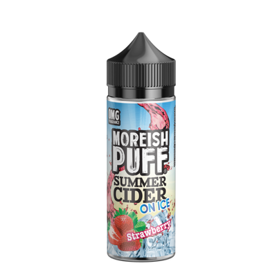 Strawberry Summer Cider on Ice by Moreish Puff 100ml - Loop-E-Juice