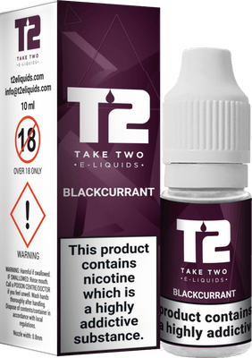Take Two Blackcurrant 10ml - Loop-E-Juice