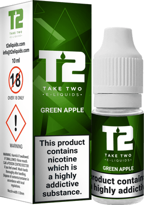 Take Two Green Apple 10ml - Loop-E-Juice