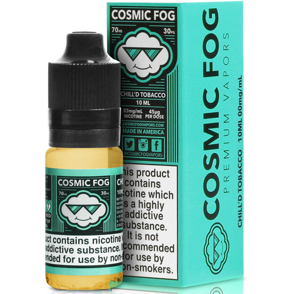 Chilled Tobacco eLiquid by Cosmic Fog 10ml 3mg - Loop-E-Juice