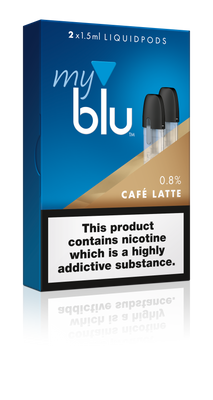 My Blu Pods - 9mg Cafe Latte (2 Pack)