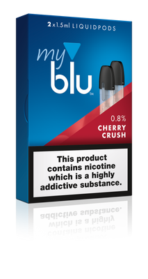 My Blu Pods - 9mg Cherry Crush (2 Pack) - Loop-E-Juice