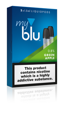 My Blu Pods - 9mg Green Apple (2 Pack) - Loop-E-Juice