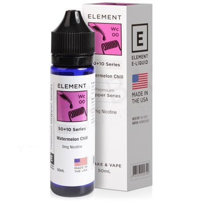 Watermelon Chill Dripper E-Liquid By Element 50ml 0mg