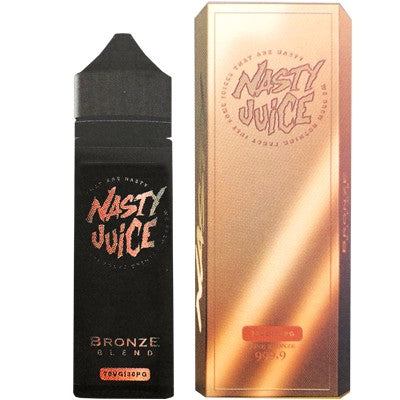 Bronze Blend eLiquid by Nasty Juice 50ml - Loop-E-Juice