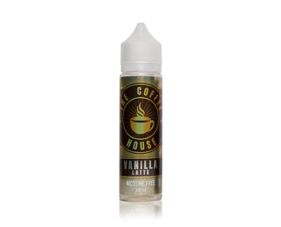 Vanilla Latte The Coffee House 50ml 0mg