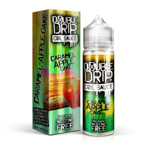 Caramel Apple Cake by Double Drip 50ml 0mg - Loop-E-Juice