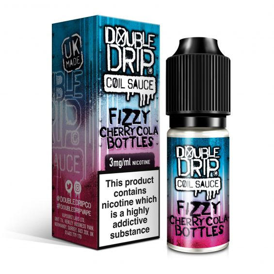 Fizzy Cherry Cola Bottles by Double Drip - Loop-E-Juice