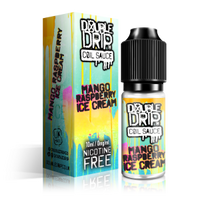 Mango Rasp Ice Cream by Double Drip 10ml 0mg