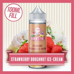 Strawberry Doughnut Ice Cream Bakers Fog 100ml (Out of Date) - Loop-E-Juice