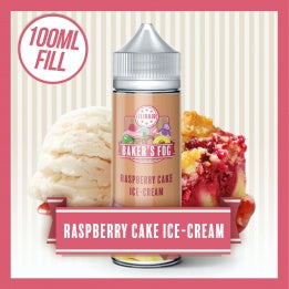 Raspberry Cake by Bakers Fog 100ml 0mg - Loop-E-Juice