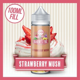 Strawberry Mush by Bakers Fog 100ml 0mg - Loop-E-Juice