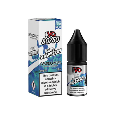 IVG Blue Raspberry 10ml - Loop-E-Juice