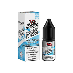 IVG Blueberg Blast 10ml - Loop-E-Juice