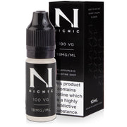 Nicotine Shot - 10ml 18mg 100% VG - Loop-E-Juice