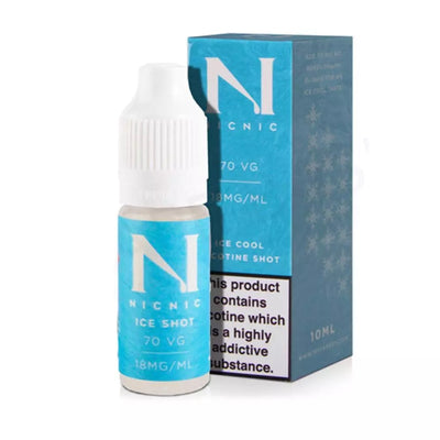 Nicotine Cool Shot - 10ml 18mg - 70/30 - Loop-E-Juice