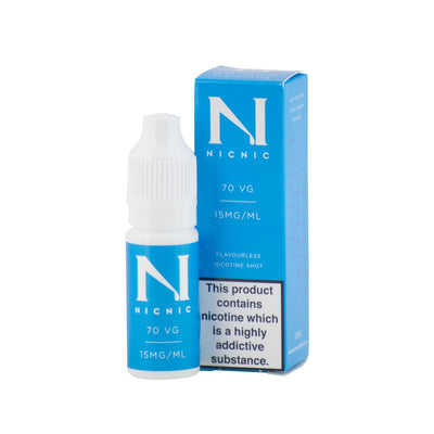 Nicotine Shot - 10ml 15mg - 70/30 - Loop-E-Juice