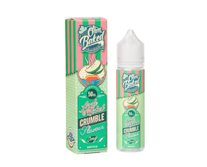 Ohm Baked Apple Rhubarb Crumble 50ml - Loop-E-Juice