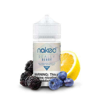 Naked 100 Really Berry e-Liquid 50ml - Loop-E-Juice