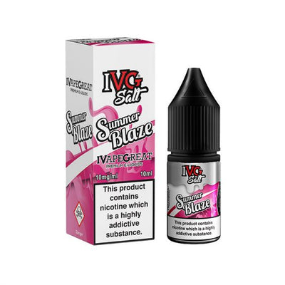 IVG Summer Blaze 10ml Salt Nicotine - Loop-E-Juice