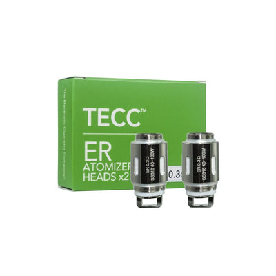 Tecc ER Slider Pro Atomizer Heads 0.3 OHM (2 pack) - Loop-E-Juice