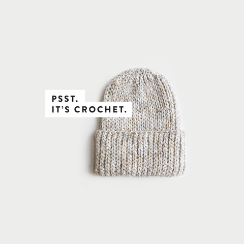 CROCHET ⨯ The Torbeck