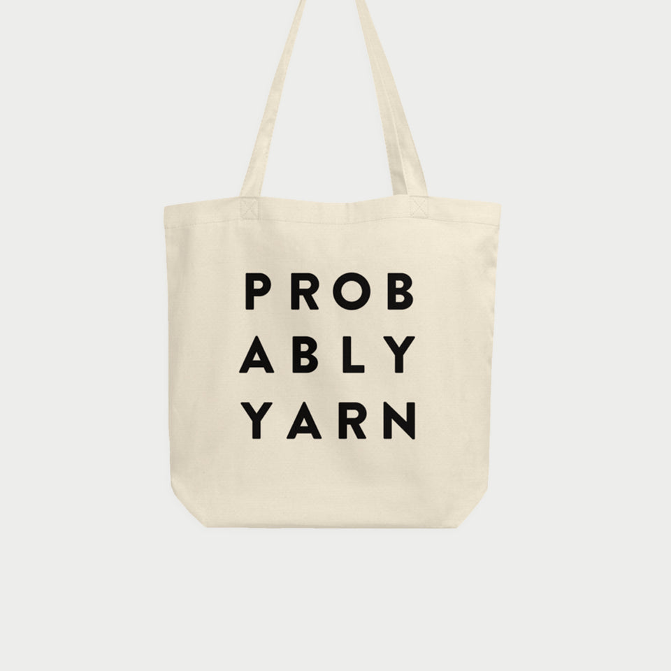 Probably Yarn Tote