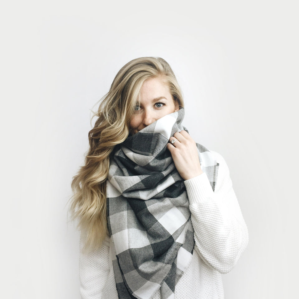 DIY ⨯ Blanket Scarf