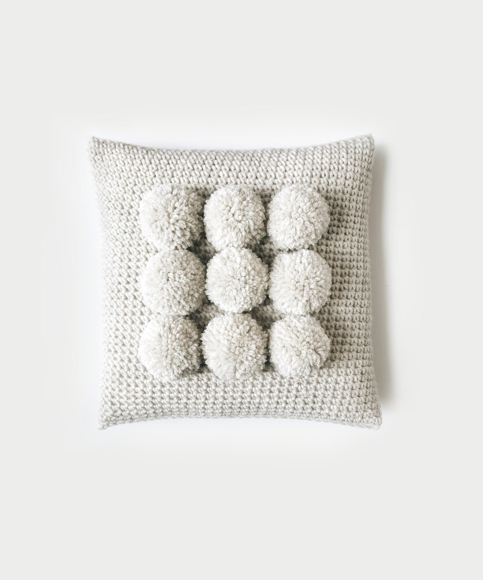 CROCHET ⨯ The Pòp Pillow