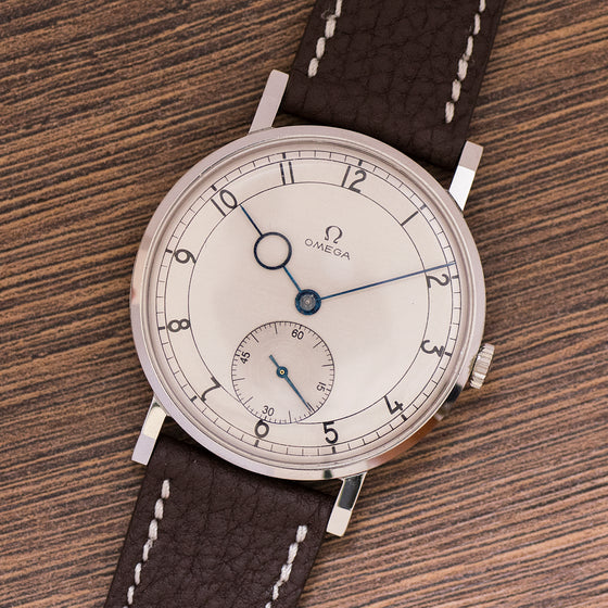 1941 Omega Art Deco 37,5mm Cal. 30T2 Arabic Numerals