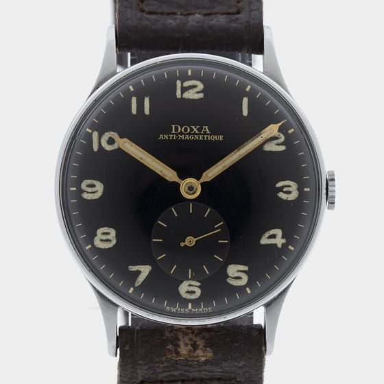 1940 Doxa Radium Dial Original Strap & Buckle