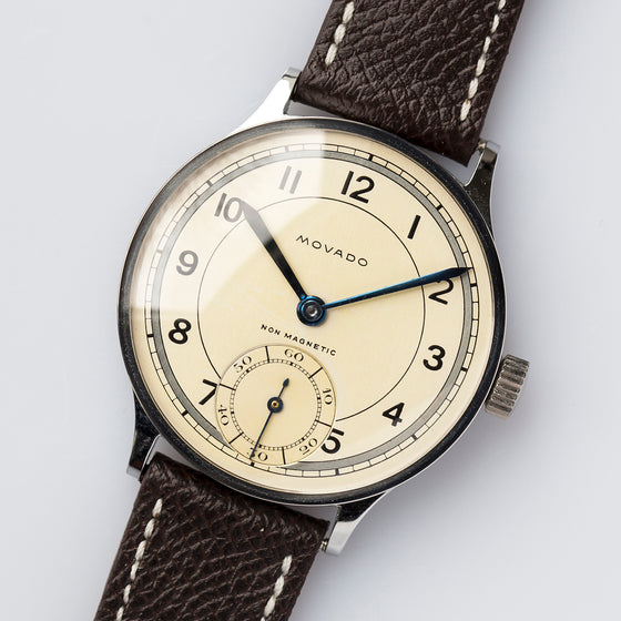 1930s Movado 40mm Jumbo Cal.660 Two-Tone Dial