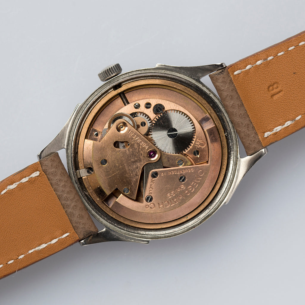 1950 Omega Automatic ref.2584-1 Screw-Back