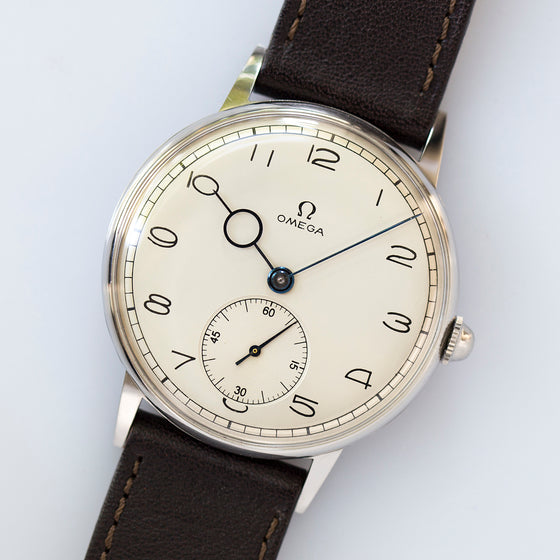 1943 Omega Art Deco 37,5mm Oversized Cal. 30T2