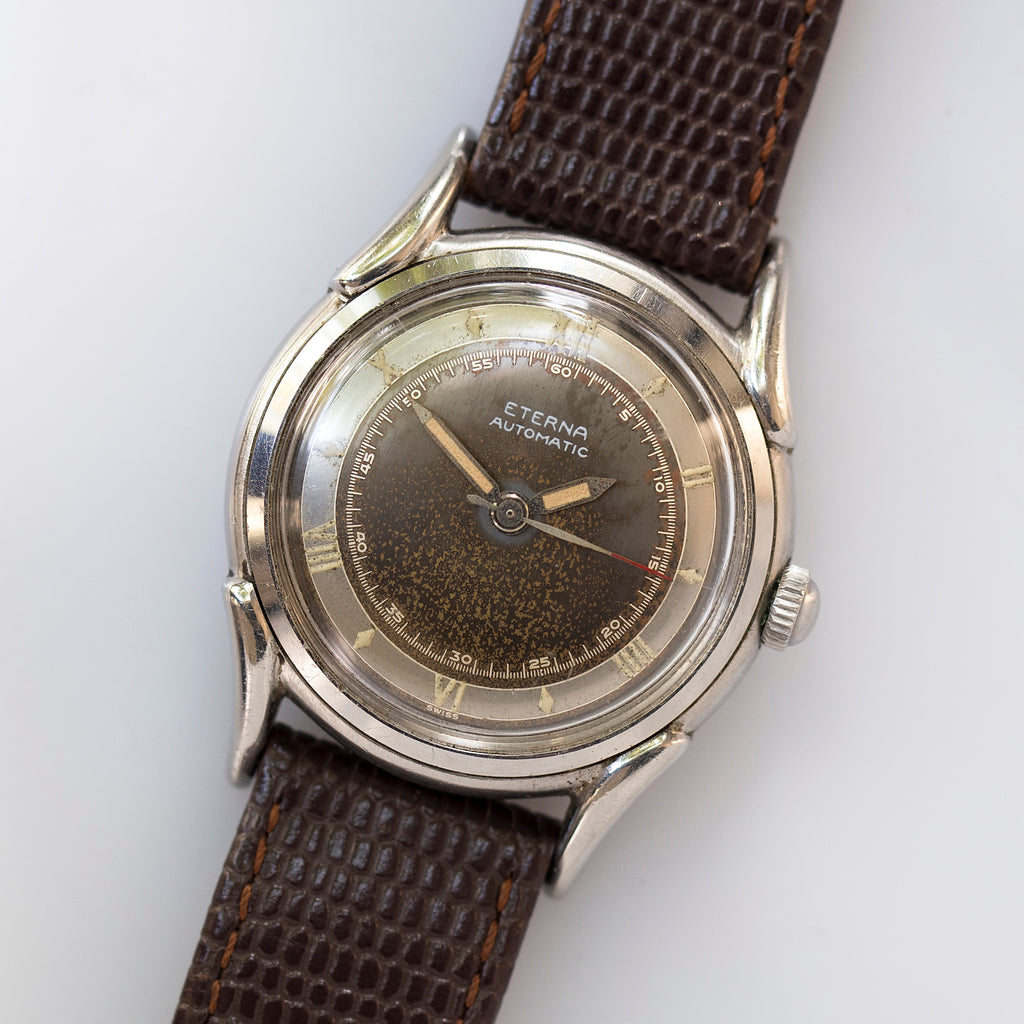 1947 Eterna Roman Numerals Screw-Back