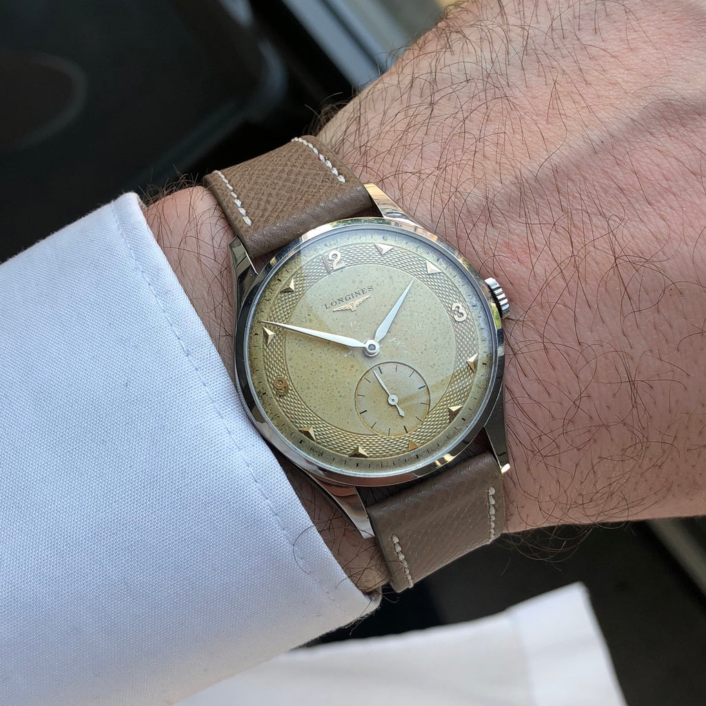 1953 Longines Tropical Guilloche Dial Cal. 1268Z
