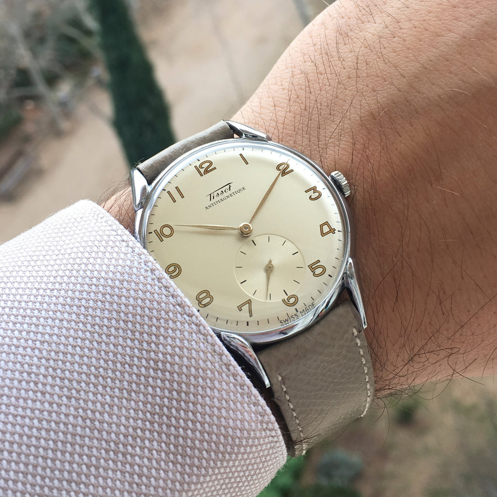 1949 Tissot NOS 37mm Original Tag
