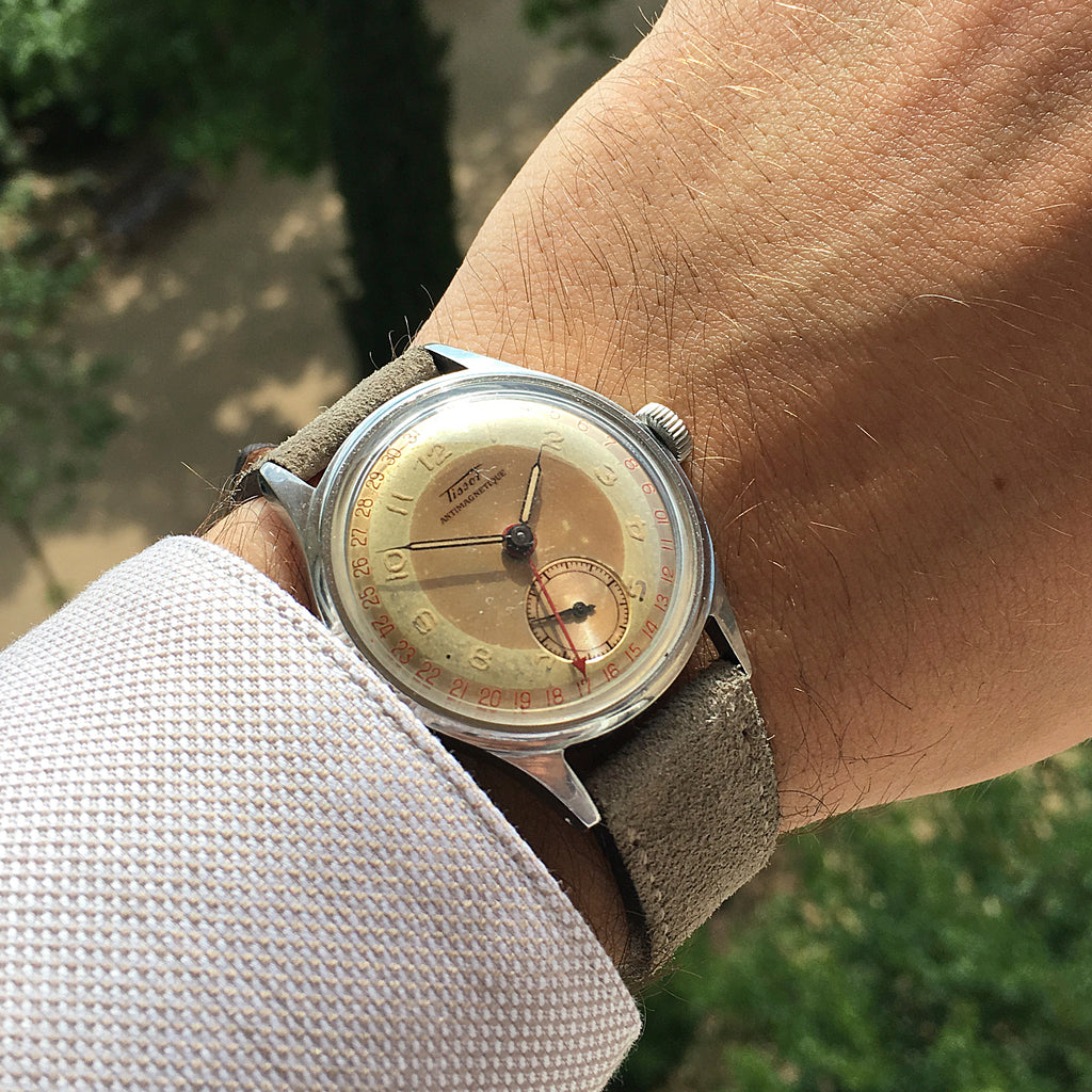 1946 Tissot Antimagnetique Pointer Date