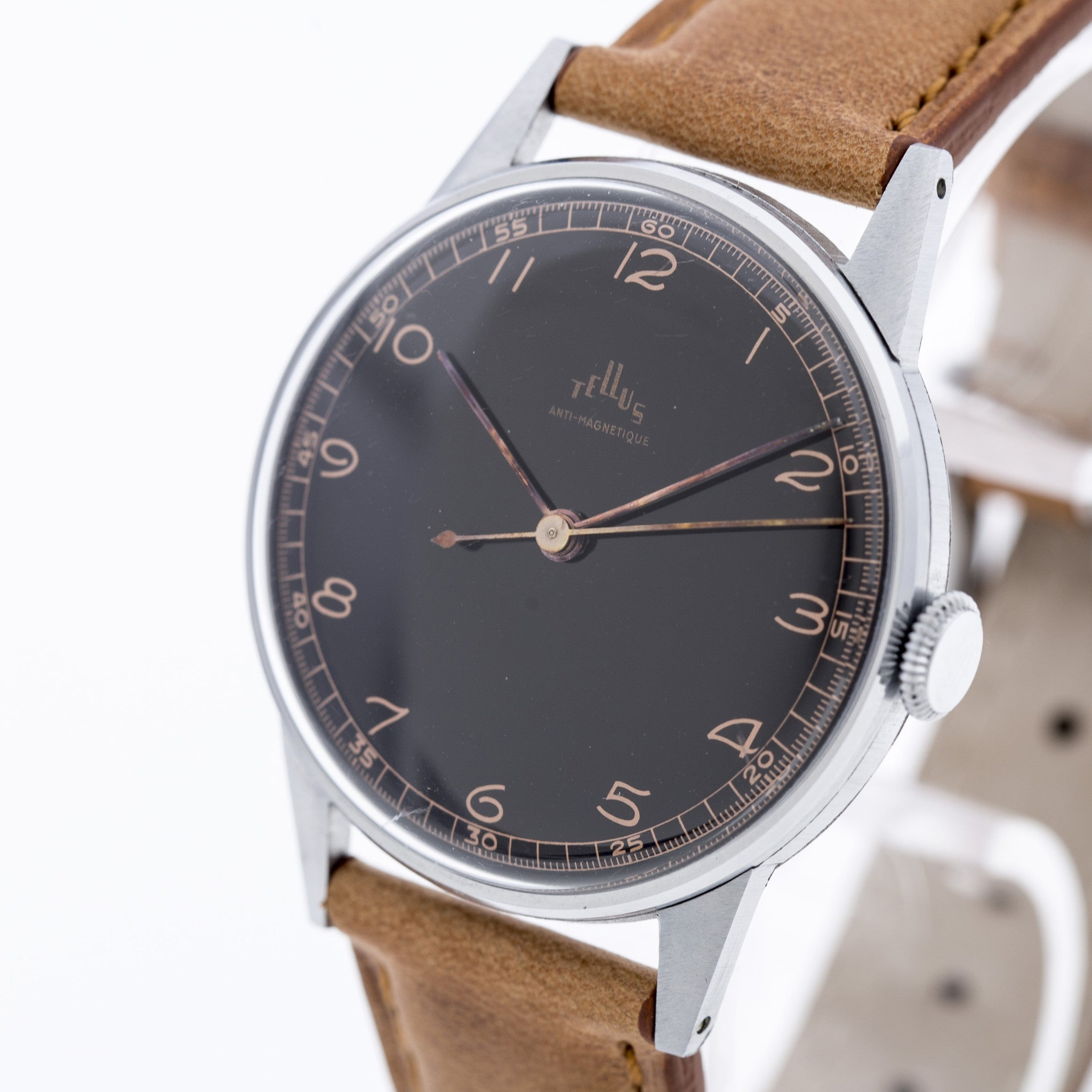 nato tokyobay alternating number noah slim products mens br leather watches bauhaus profile by dial watch with brown classic