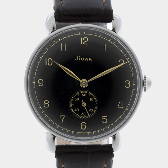 1940s Stowa New-Old-Stock Gilt Dial