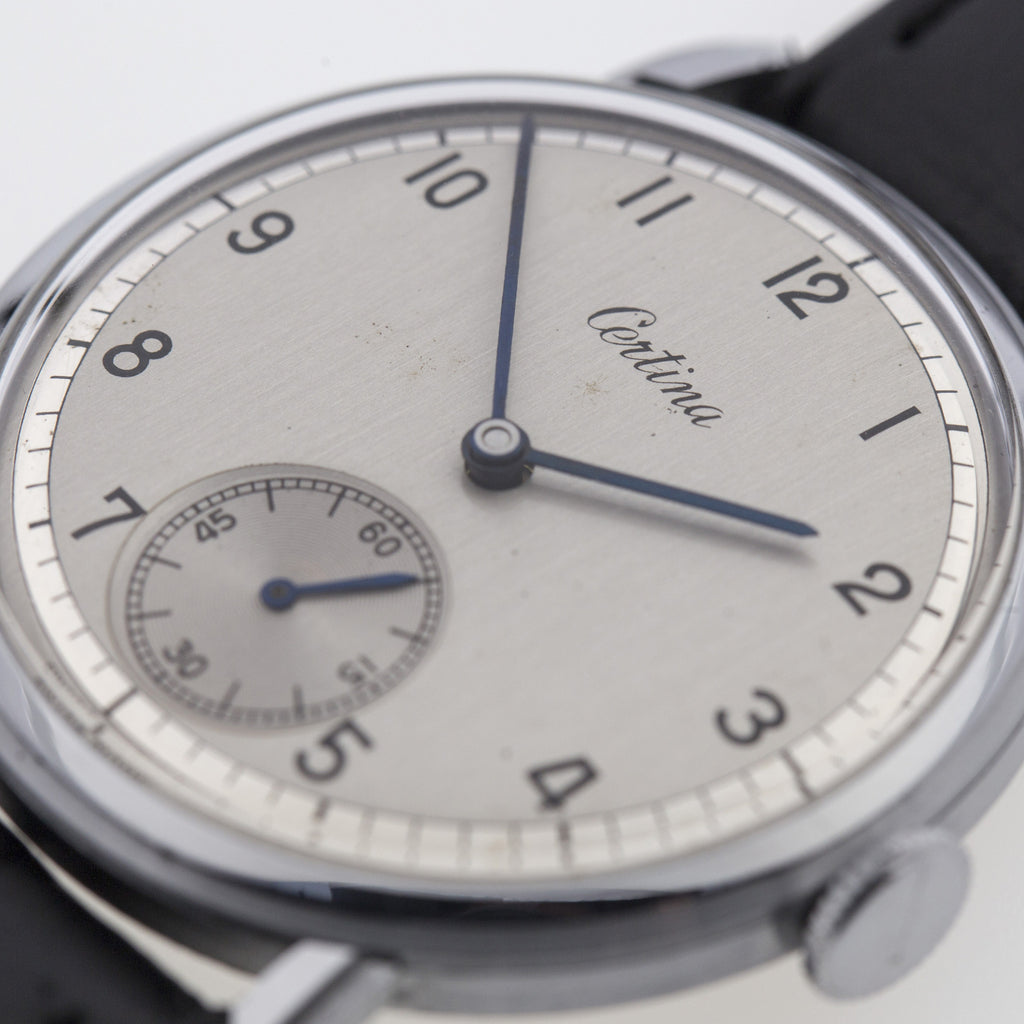 1950 Certina New-Old-Stock Duo-Tone Dial